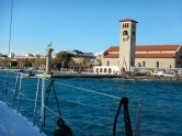 That tower is where the Port Police are now located